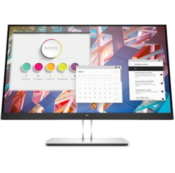 HP E24 G4 FHD IPS Anti-Glare Eye Ease 1920x1080 DisplayPort, VGA, HDMI, USB 3.2, Tilt, Swivel, Pivot, Height Adjustment 3YR WTY MONITOR (E243 1FH47AA)