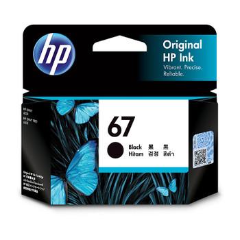 HP #67 Black Ink 3YM56AA