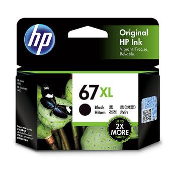HP #67XL Black Ink 3YM57AA