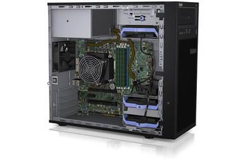 LENOVO ThinkSystem ST50 4U Tower Server, 1 x E-2276G 3.8Ghz, 1 x 16GB , SW RD, 1 x Fixed 250w PSU. 3 x 3.5' Non HS HDD, 3Yr Ltd Wty