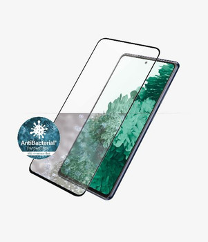 PANZER GLASS Screen Protector - Case Friendly - For Samsung Galaxy S21 - Full Frame Coverage, Rounded Edges, Crystal Clear, 100% Touch Preservation