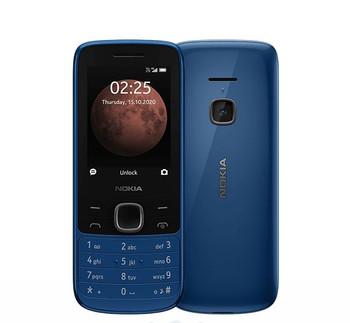 NOKIA 225 4G Classic Blue 2.4' Display, Unisoc T117 CPU, 64MB ROM,128MB RAM, 16GB MicroSD card (included inside phone), 0.3 MP Camera, Dual SIM