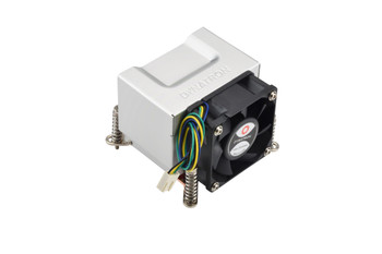 SUPERMICRO Active CPU Heat Sink w/ a Side-mount Fan for Intel Socket H Series Motherboards - Suits 5029C-T