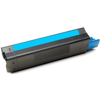 OKI 43872311 Cyan C5650 C5750 Premium Generic Toner