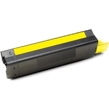 OKI 43872309 C5650 C5750 Yellow Premium Generic Toner