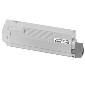 OKI 43865728 C5850 C5950 MC560 Black Premium Generic Toner