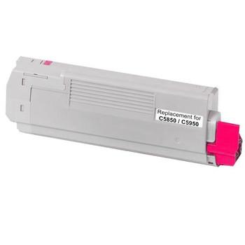 OKI 43865726 C5850 C5950 MC560 Magenta Premium Generic Toner
