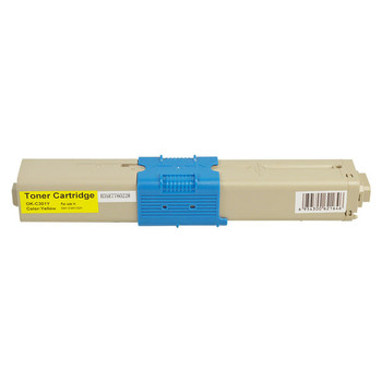 OKI 44973545 #301 Yellow Premium Generic Toner