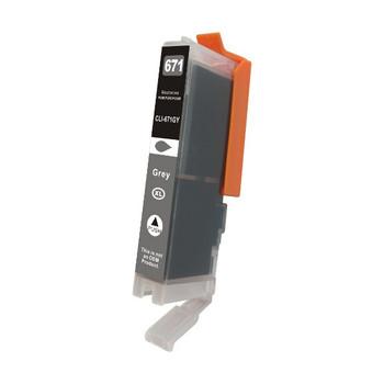 CANON CLI-671XL Gray Premium Compatible Inkjet Cartridge