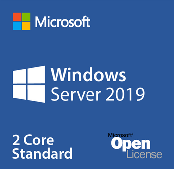 MICROSOFT Windows Server Standard CORE 2019, OLP 2 Licenses No Level Core Licence (2 Core Per SKU)