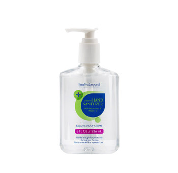 OTHER & Beyond Instant Hand Sanitiser Gel 236ml Pump bottle with moisturizers & Vitamin E, 75% Alcohol