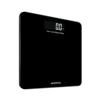 MBEAT 'actiVIVA' Electronic Talking Digital Scale - Scale up to 180kgs/Large Digital Display/Voice Scale