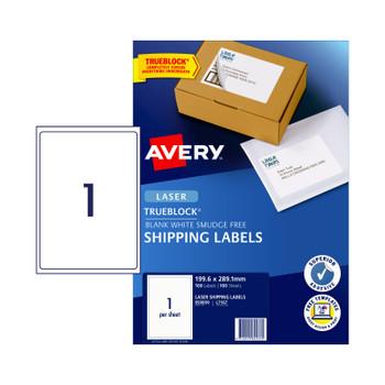 AVERY Laser Label L7167 1Up Pk100