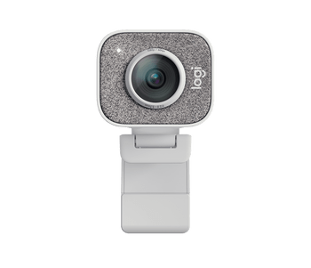 LOGITECH STREAMCAM 1080P HD,BUILT IN MIC,AUTO FOCUS,USB-C,WHITE,1YR WTY, Full HD camera with USB-C for live streaming and content creation