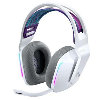 LOGITECH G733 Lightspeed Wireless RGB Gaming Headset White 981-000886
