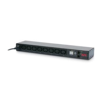 APC (AP7920B) SWITCHED 1U RACK PDU 12A/208V, 10A/230V, (8)C13