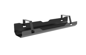 BRATECK Under-Desk Cable Management Tray - Black Dimensions:600x135x108mm