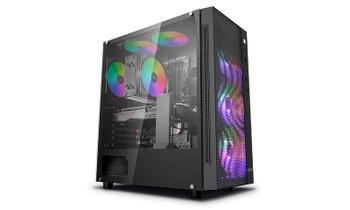 LEADER Apache V26v2 Gamer Desktop, Intel 10400F CPU, 16GB 3200Mhz, 500GB SSD, GTX 1650 4GB, Windows10 Home, 1 year Warranty, RGB, 550W PSU 80+