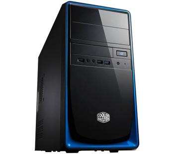 COOLERMASTER RC344 mATX Case,Blue Trim, No PSU 1x USB3.0+2x USB2.0 (LS)