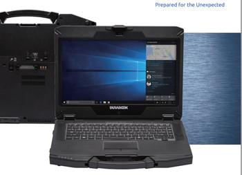 DURABOOK S14I Rugged 14' FHD Intel i5-1135G7 8GB 256GB SSD WIN10 PRO Intel Iris Xe Graphics WIFI6 HDMI RS-232 Serial 3YR WTY Rugged Tough Notebook