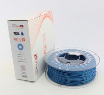 PLA Filament Copper 3D PLActive - Innovative Antibacterial 1.75mm 2.3KG Sky Blue Color 3D Printer Filament (On Demand)