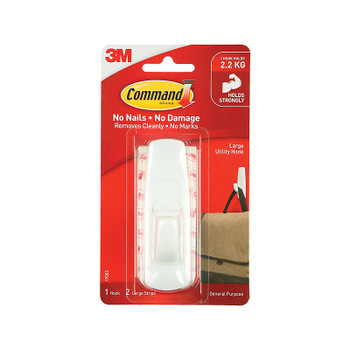 COMMAND Hook 17003ANZ Large Bx6