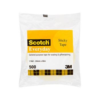 SCOTCH StkyTape 502 24X66 Bx6