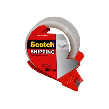 SCOTCH Pkg Tape 3350-RD-AU Bx6