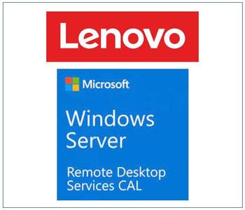LENOVO - Windows Server 2019 Remote Desktop Services Client Access License (1 User) ST50 / ST250 / SR250 / ST550 / SR530 / SR550 / SR650 / SR630