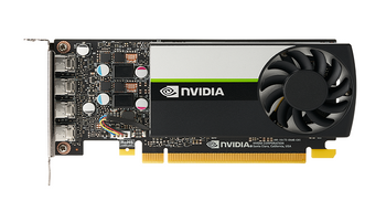 LEADER-P Quadro Turing T600 Workstation GPU, 4GB GDDR6, PCI-E 3.0 x16, up to 160 GB/s Memory Bandwidth, 640 NVidia CUDA Cores, 4x mDP 1.4