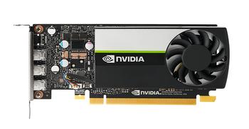 LEADER-P Quadro Turing T400 Workstation GPU, 2GB GDDR6, PCI-E 3.0 x16, 384 NVidia CUDA Cores, 3x mDP 1.4