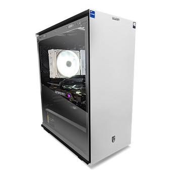 LEADER Glacial White V29 Gamer Desktop, Intel i7-11700KF, 16GB 3600Mhz, 500GB NVMe SSD,RTX3060, Windows10 Home, 1 year Warranty, RGB, 650W PSU 80+