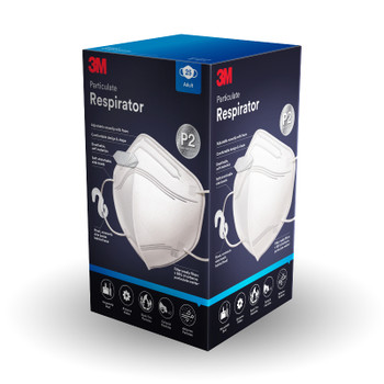 3M Disposable Mask P2 Respirator 9123EN-3 Pack of 25