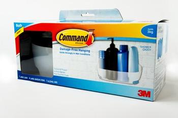 COMMAND Shower Caddy BATH11-ES
