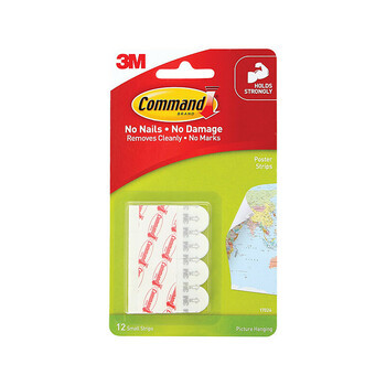 COMMAND Strip 17203 Sml/Med ValPack of