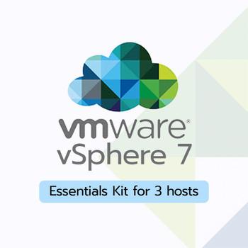 LENOVO - VMware vSphere 7 Essentials Kit for 3 hosts (Max 2 processors per host) License