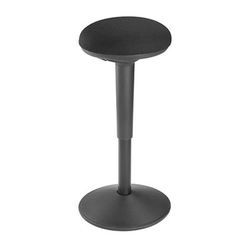 BRATECK Ergonomic Height Adjustable Wobble Stool (355x355x550-750mm) Up to 100Kg