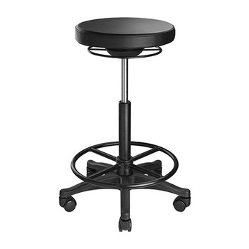 BRATECK Ergonomic Height Adjustable Stools (385x385x600-835mm) Up to 100 Kg