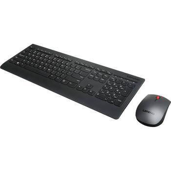 LENOVO Professional Wireless Combo Keyboard & Mouse (US English)