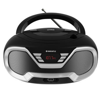 MAJORITY Oakcastle CD200 Portable Bluetooth CD Player-Black
