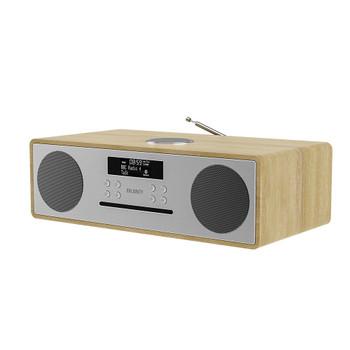 MAJORITY Majority Oakington Bluetooth, DAB Radio & CD Player-Oak