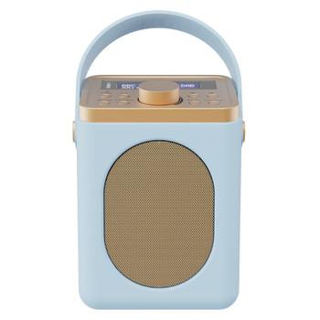 MAJORITY Majority Little Shelford DAB/DAB+ Radio with Bluetooth-Duck Egg-2PK