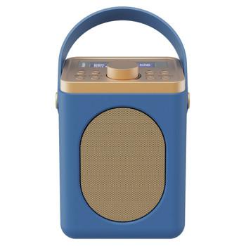 MAJORITY Majority Little Shelford DAB/DAB+ Radio with Bluetooth-Midnight Blue