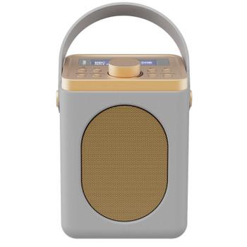 MAJORITY Majority Little Shelford DAB/DAB+ Radio with Bluetooth-Grey