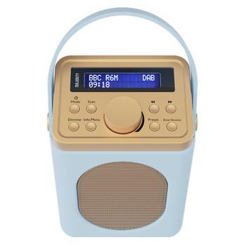 MAJORITY Majority Little Shelford DAB/DAB+ Radio with Bluetooth-Duck Egg