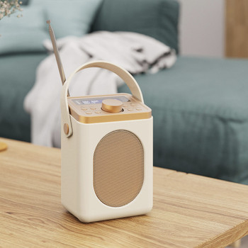 MAJORITY Majority Little Shelford DAB/DAB+ Radio with Bluetooth-Cream
