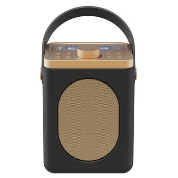 MAJORITY Majority Little Shelford DAB/DAB+ Radio with Bluetooth-Black