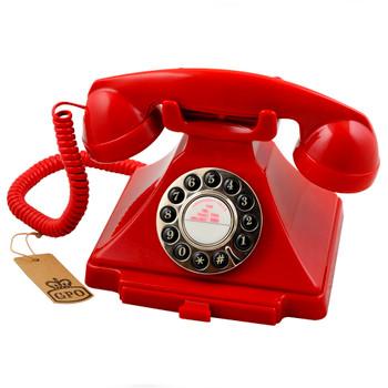 GPO RETRO GPO CARRINGTON TELEPHONE - RED