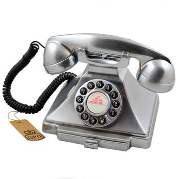 GPO RETRO GPO CARRINGTON TELEPHONE - CHROME