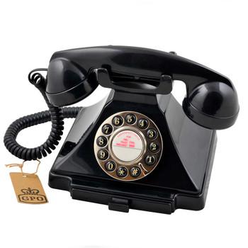 GPO RETRO GPO CARRINGTON TELEPHONE - BLACK